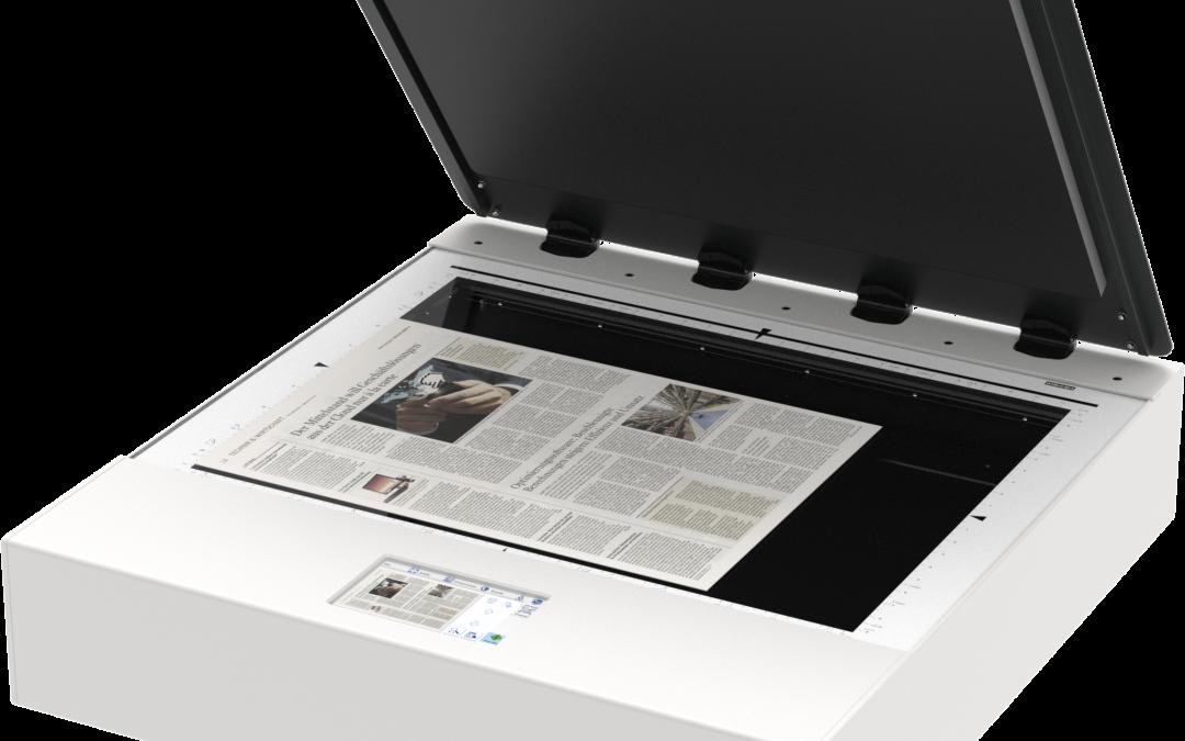 WideTEK 25 Flatbed Scanner
